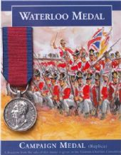 Mini Campaign Medal - Waterloo